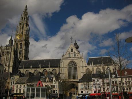 Antwerp – cathedral of our lady