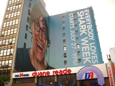 Discovery Shark Week Wallscape