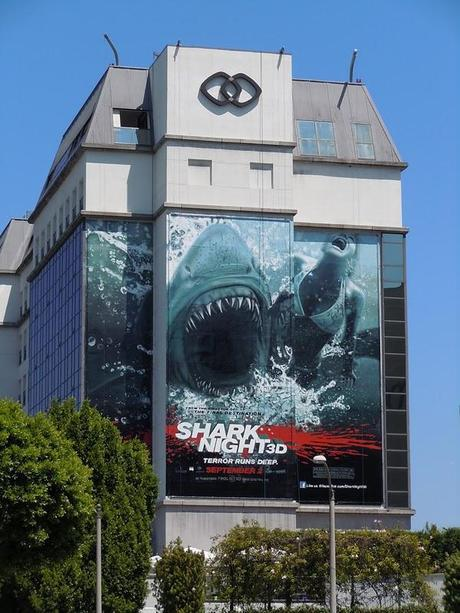 Shark Night 3D Wallscape