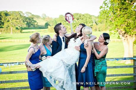 Bouncing and rolling down a hill (wedding blog!)