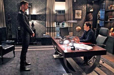 Eric in Bill's office Season 4