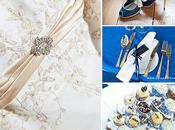 Look! Blue Wedding Inspiration Board