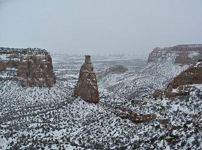 2011 - February 8th - Colorado National Monument Snow Storm Aftermath