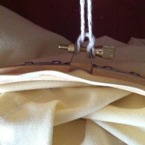 DIY Hanging Hoop Laundry Bag