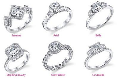 disney princess wedding enement rings diamond ring paperblog - Disney Princess Wedding Rings