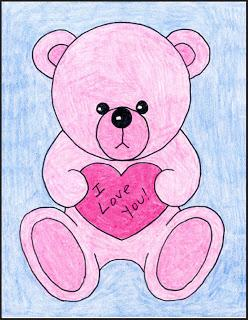 How to draw a valentine teddy bear paperblog how to draw a valentine teddy bear altavistaventures Image collections