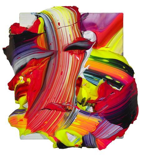 abstract colorful painting, yasoypintor