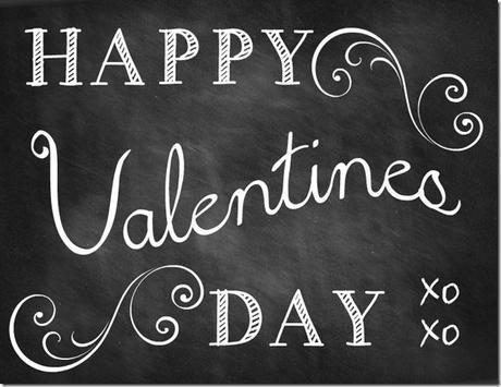 happy valentines day chalkboard thumb 5 Valentine Chalkboard Printables
