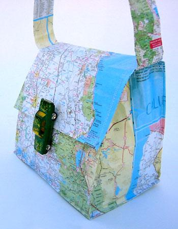 DIY - Map Purse