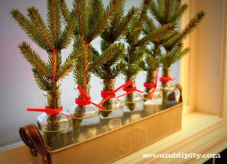 Rustic Shabby Chic Holiday Decor - Paperblog