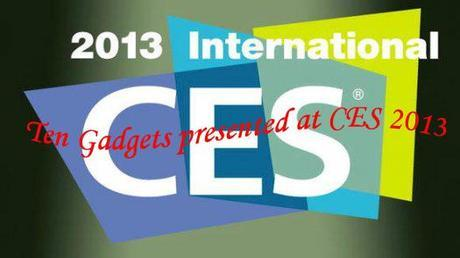 gadgets in ces2013