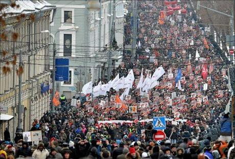 (March in Moscow, 13 Jan 2013)