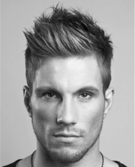 Spiked hairstyle for men styled with gel - Top 10 Hairstyles For Men The Best Men S Haircut Styles