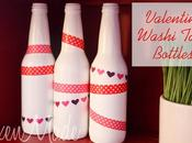 Valentine Washi Tape Bottles