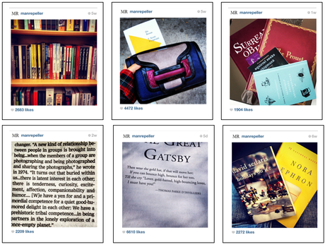 Celebrity Bookself: The Man Repeller