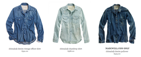 Wilder Style + Words: Chimala Denim (or) Yves Nailed It