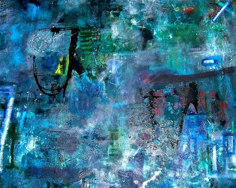 Blue Abstract painting by Simon Brushfield1 1024x819 Creativity and Chaos: The Power of Anarchy