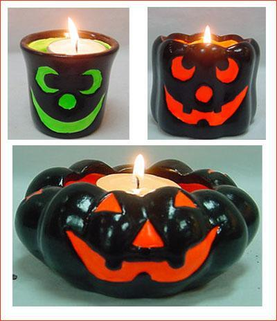 DIY Candle Stands - Halloween Special