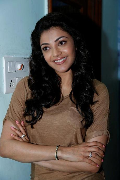 Sexy Kajal Agarwal @ Nayak Press meet