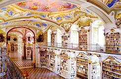 Beautiful Libraries | Admont Abbey Library, Admont, Austria