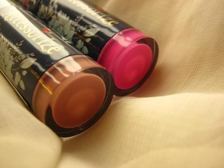 Accessorize Lipsticks in Love-struck and Obsessed