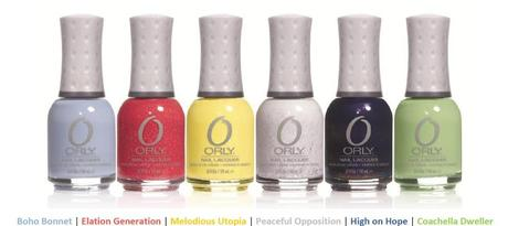 Orly Hope & Freedom Festive Collection For Spring 2013