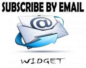 subscribe to email widget for bloggers
