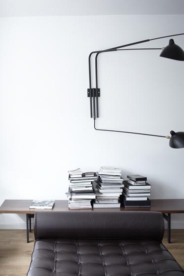 Weekend inspiration: grey + wood
