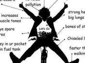 Just Sharing: Benefits Cycling