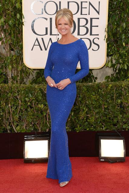 Blue On Red Carpet: Golden Globes, Peoples Choice, Critics' Choice