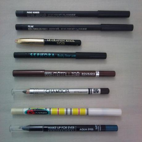 Eyeliner: MAC, Lancome, Sephora, Bourjois, Chambor and Make Up For ...