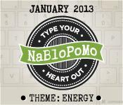 NaBloPoMo January 2013