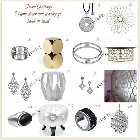 decor home decor and jewelry2 Decorating Trend Spotter~Home Decor and Jewelry Design HomeSpirations