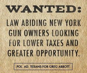Texas To New York Gun Owners: Come on Down To Texas, Keep Your Guns And Your Money