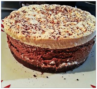 Belgian Chocolate And Irish Cream Cheesecake