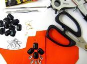 DIY: Funky Leather Earrings