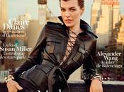 Cover: Milla Jovovich Inez Vinoodh Vogue Paris February 2013