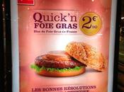 Season's Special: Foie Gras Burger Quick, France