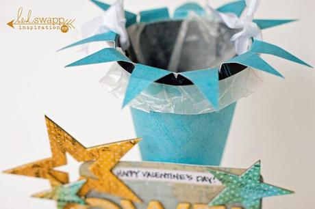 Valentine's Day Paper Candy Cones