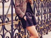 Style Leather Shorts Baroque Bomber