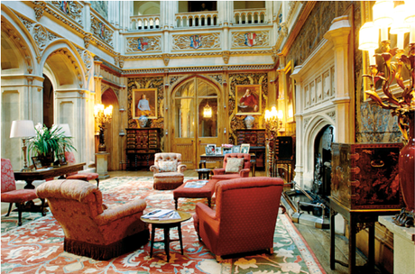 Design Inspiration from Downton Abbey