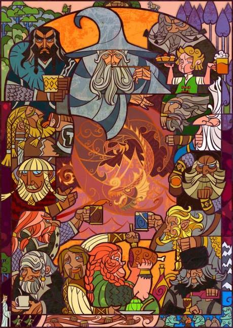 Lord of the Rings and The Hobbit Fan Art