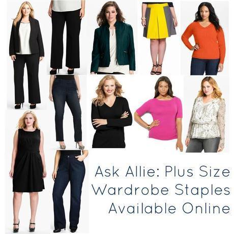 Ask Allie: Plus Size Wardrobe Staples