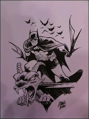 Cameron Stewart Batman original art