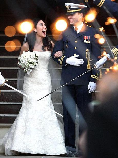 Michelle Kwan Weds Clay Pell