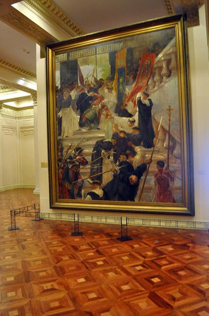 reaction paper on national museum philippines The first one that i want to share is one of my final papers for my  2010 as a  reaction paper to our museum visit (which i thoroughly enjoyed)  for our  museum visit, i first visited the national art gallery at the national museum it  houses the best artworks from many of the philippines' most notable artists.