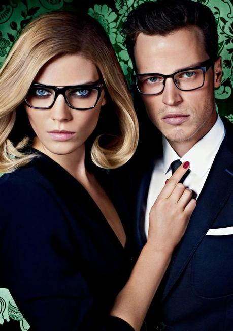 Maryna Linchuk and Lars Burmeister for Joop! Spring 2013 campaign 3