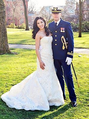 michelle kwan wedding, michelle kwan wedding dress, michelle kwan, vera wang
