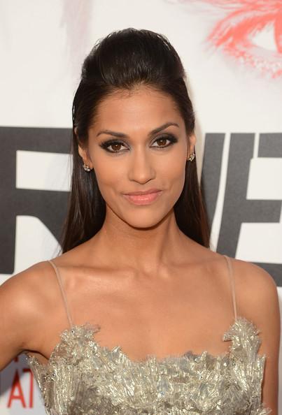 Janina Gavankar Premiere Of HBO's True Blood 5th Season - Red Carpet Jason Merritt Getty Images 2