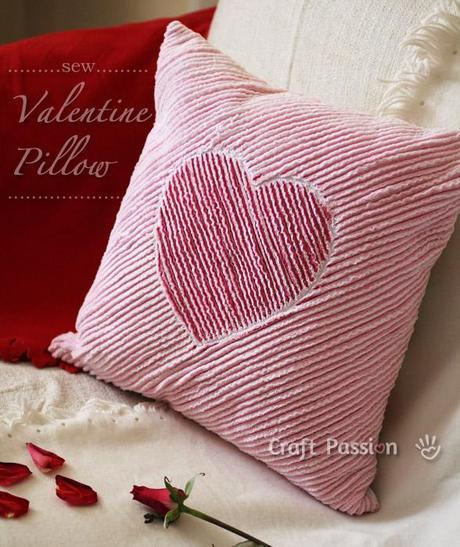 Sew Valentine Pillow
